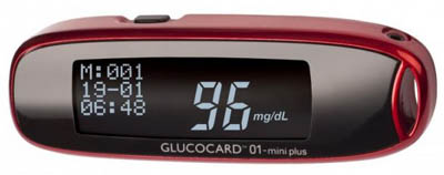 Glukometr GLUCOCARD 01- mini plus