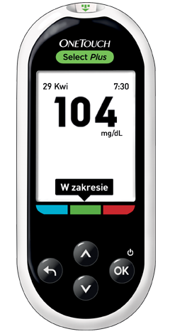 Glukometr OneTouch Select® Plus