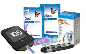 Glukometr Optium Xido Neo