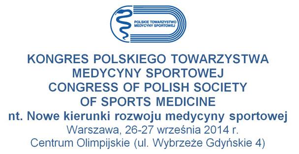 We wrześniu Kongres Polskiego Towarzystwa Medycyny Sportowej
