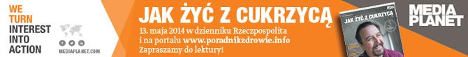 Publikacja Jak żyć z cukrzycą już 13 maja w Rzeczpospolitej